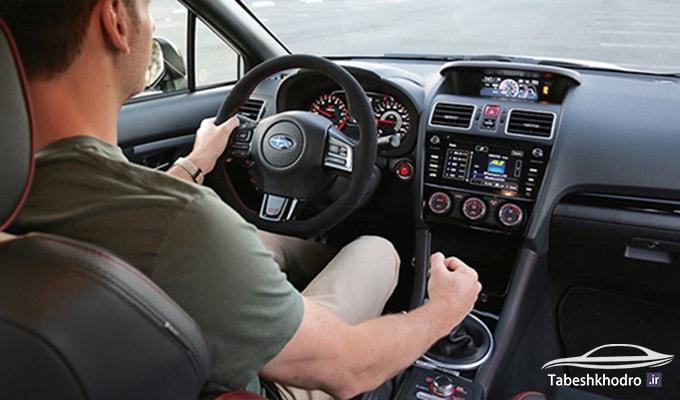 آموزش تعویض دنده در زمان رانندگی