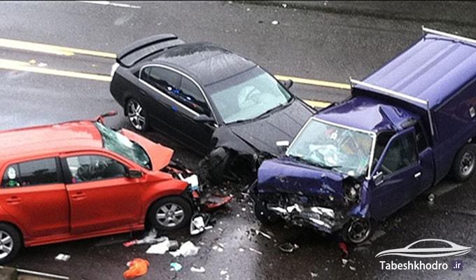 نحوه محاسبه خسارت تصادف رانندگی در ایران