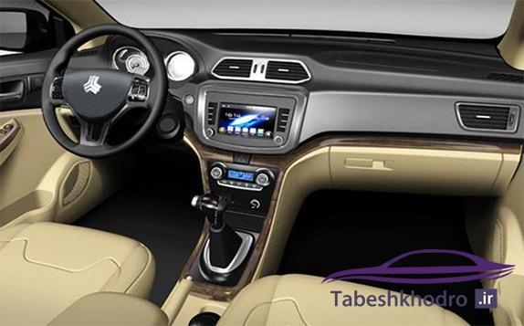مشخصات ظاهری و داخلی خودرو شاهین
