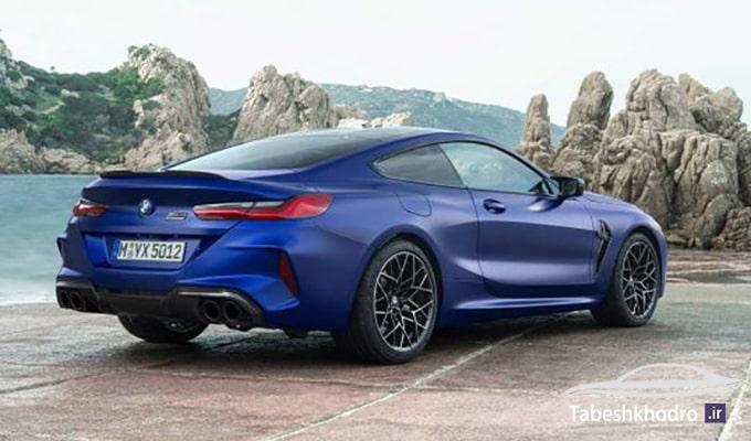سیستم محرک چهار چرخ خودرو BMW M8