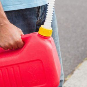 تمام شدن بنزین